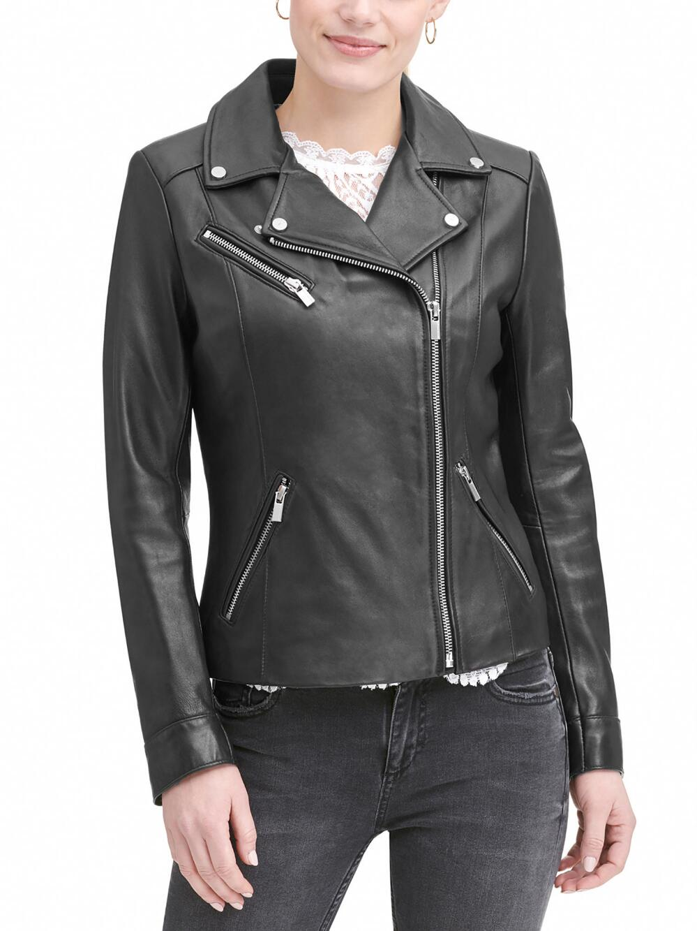 Wilson leather jacket for women