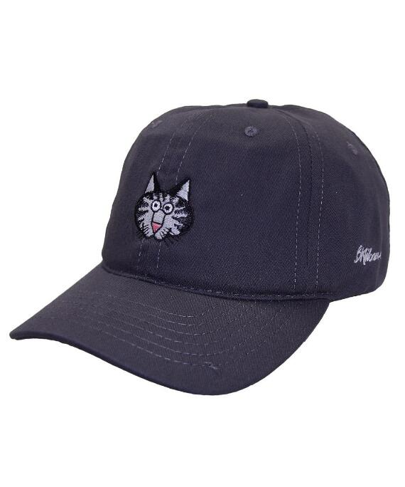 Cat Face Graphite Twill Hat