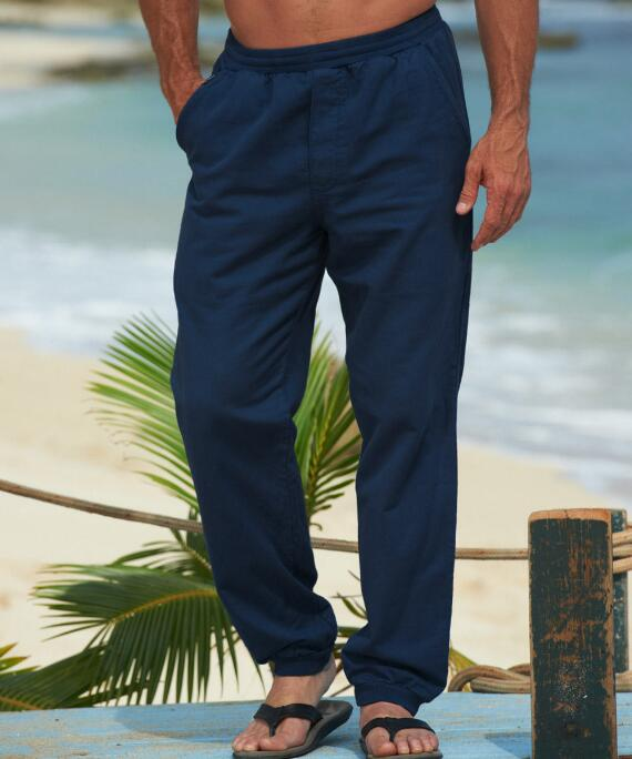 Navy Canton Pants