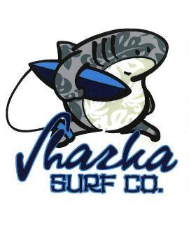 Hawaiian Sharka - Sticker