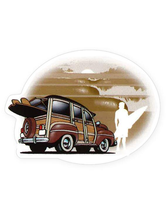 Retro 84 Woody - Sticker