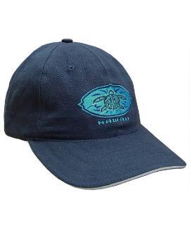 Blue Honu Medallion Navy Twill Hat