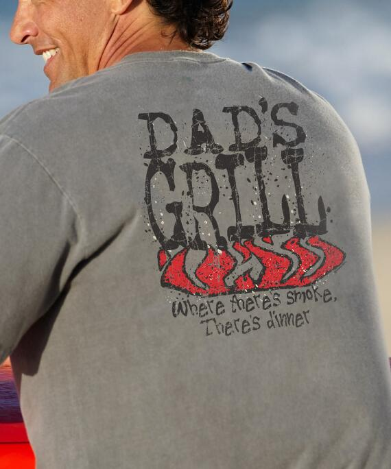 Short-Sleeve Dads Grill Crater Crew T-shirt