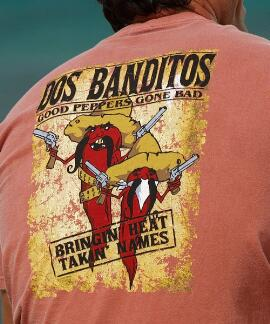 Short-Sleeve Dos Banditos Chile Crew T-shirt