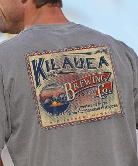 Short-Sleeve Volcano Brew Crater Crew T-shirt