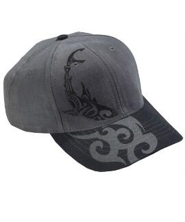 Circling Sharks Graphite Twill Hat