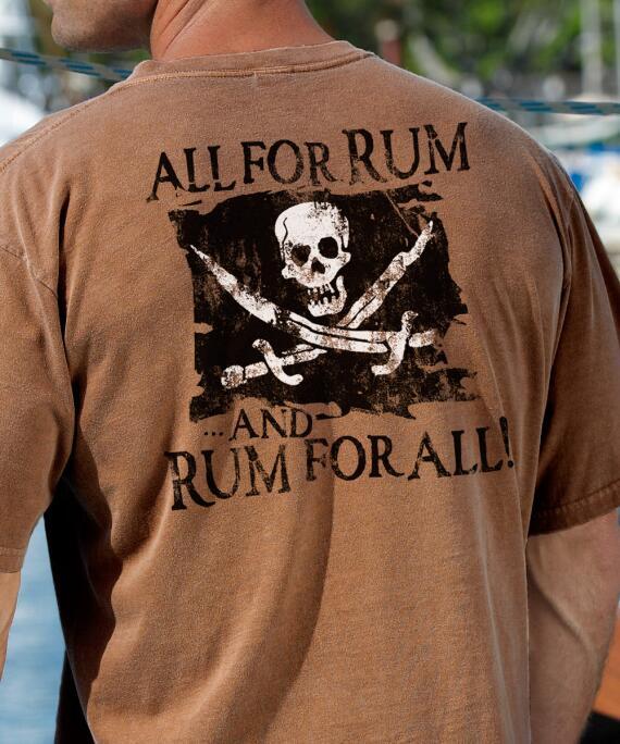 Short-Sleeve Rum For All Rum Crew T-shirt