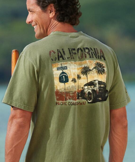 Short-Sleeve Highway Hemp Crew T-shirt