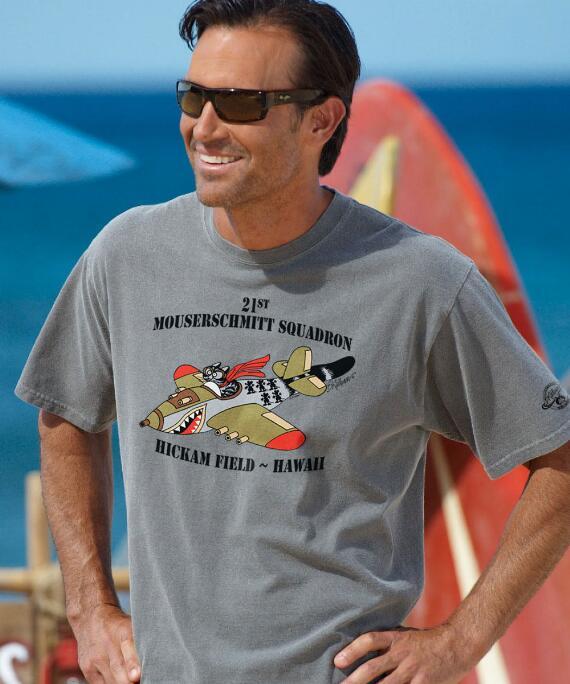 Short-Sleeve Mouserschmitt Squadron Crater Crew T-shirt