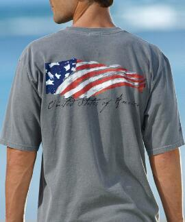 Short-Sleeve Winds Of Freedom Crater Crew T-shirt