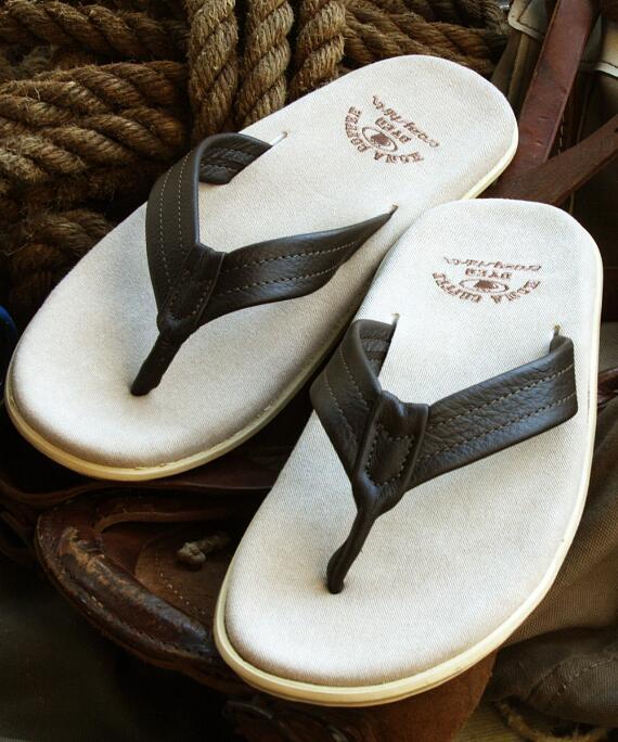 Aukai - Kona Coffee-Dyed Men's Sandal