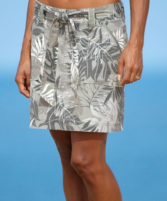 Rainforest Light Camo Women's Printed A-line Skirt