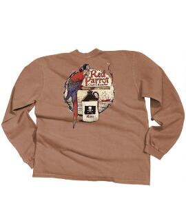 Long-Sleeve Red Parrot Rum Classic Crew