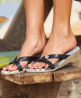 Laulani - Black Women's Sandal