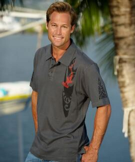 Short-Sleeve Wc Shark Smoke Pima Polo