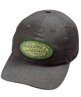 Amazing Dad Charcoal Twill Hat