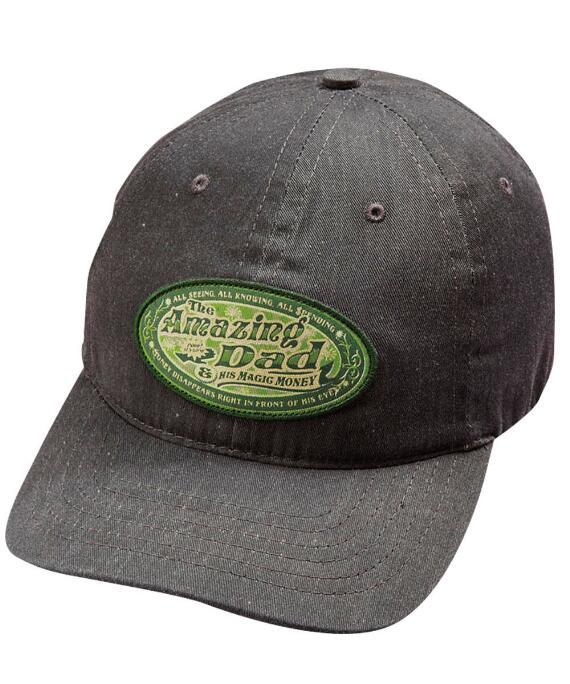 Amazing Dad Charcoal Twill Hat