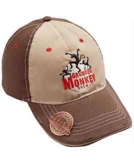 Drunken Monkey Brown Bottle Opener Hat