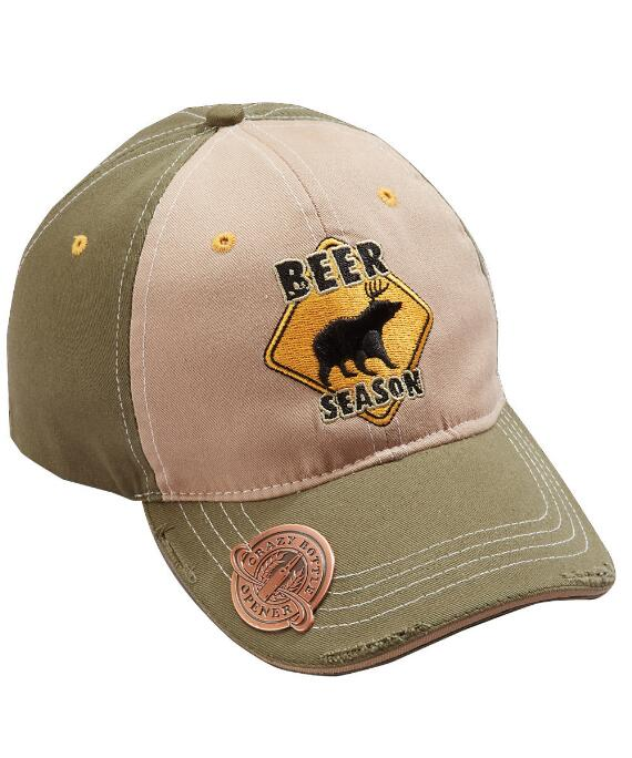 Beer Season Olive Bottle Opener Hat