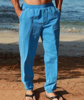 Blue Hi Dyed Logo Blue Hawaii Canton Pants