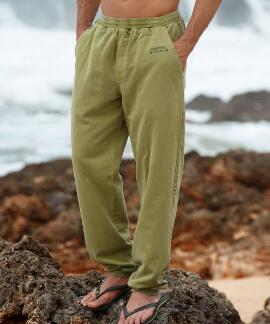 Hemp Dyed Logo Hemp Canton Pants