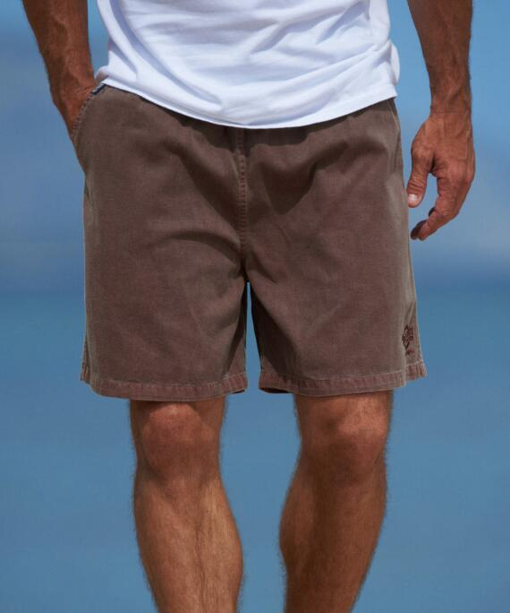 Chocolate Dyed Logo Chocolate Crazyshorts® Twill Shorts