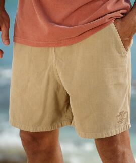 Kona Coffee Dyed Kona Coffee Crazyshorts® Twill Shorts