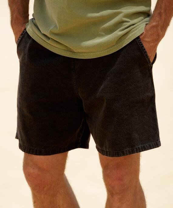 Black Crazyshorts® Twill Shorts