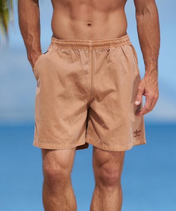 Rum Dyed Logo Rum Crazyshorts® Twill Shorts