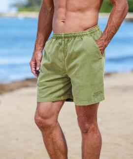 Hemp Dyed Logo Hemp Crazyshorts® Twill Shorts