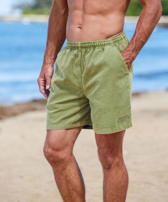 Hemp Dyed Logo Hemp Crazyshorts® Twill Shorts