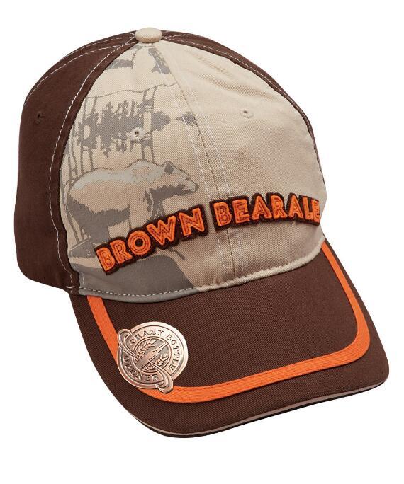 Aspen Brewing Co. Brown Bear Brown Bottle Opener Hat