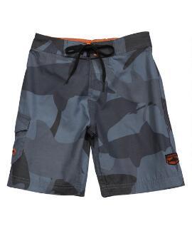 Manoflage Charcoal/gray Boys Board Shorts