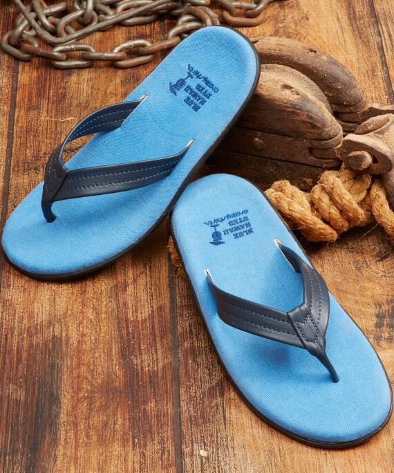 Aukai - Blue Hawaii-Dyed Men's Sandals