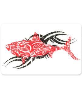 Red Shark - Sticker