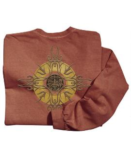 Long-Sleeve Sun Medallion Chile Classic Crew