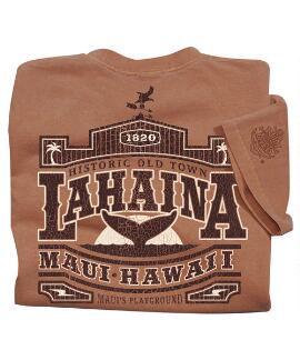Short-Sleeve Old Town Lahaina Rum Crew T-shirt