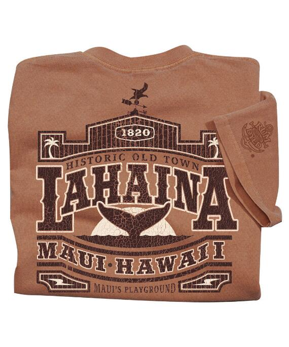 Short-Sleeve Old Town Lahaina Rum Crew T-shirt