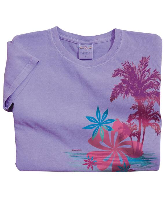 Short-Sleeve Stella Lavender Mini T-shirt