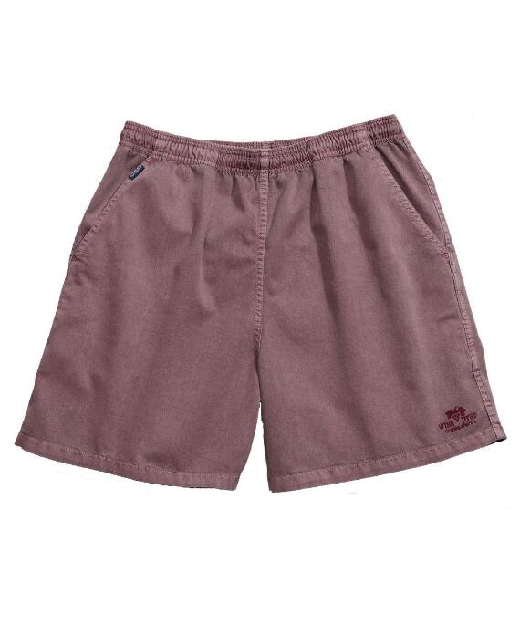 Red Wine Dyed Logo Red Wine Crazyshorts® Twill Shorts