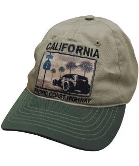 Highway Khaki Twill Hat