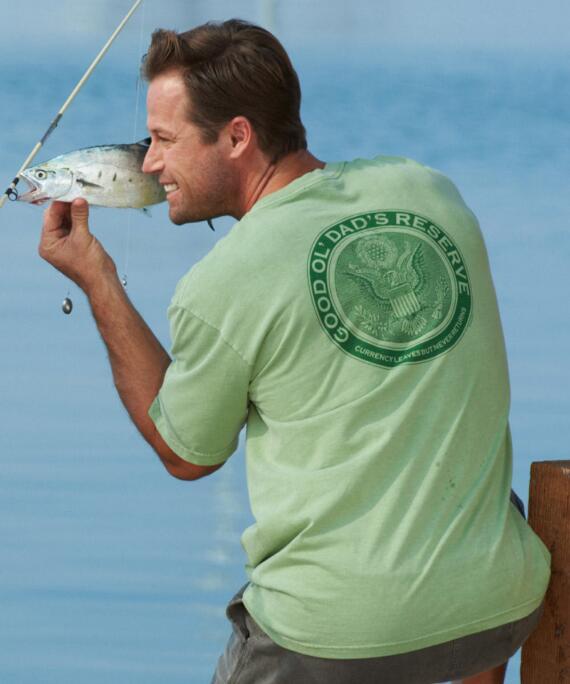 Short-Sleeve Dads Reserve Money Crew T-shirt