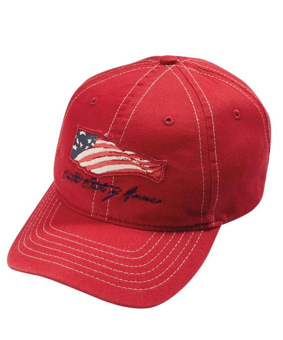 Winds Of Freedom Red Twill Hat