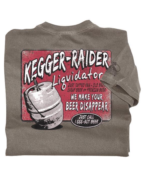 Short-Sleeve Kegger Raider Crater Crew T-shirt