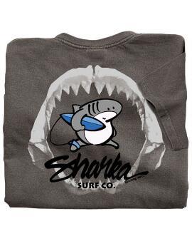 Short-Sleeve Sharka Jaws Crater Kids Classic Crew