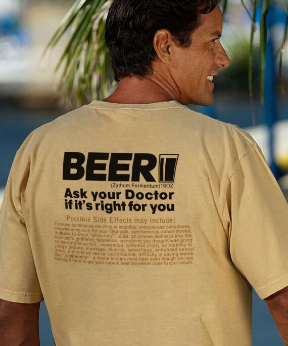 Short-Sleeve Beer Rx Pale Ale Crew T-shirt