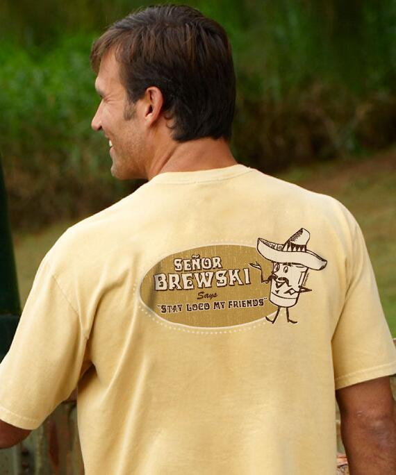 Short-Sleeve Senor Brewski Pale Ale Crew T-shirt