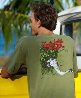 Short-Sleeve Crazy Mountain Brewing Hookiebobb Hemp Crew T-shirt