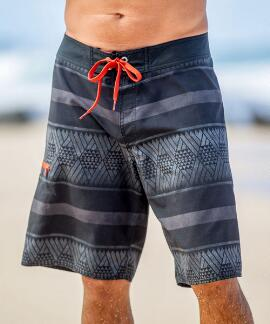 Kako Overcast Gray Eco Hydroprint Board Shorts