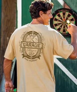 Short-Sleeve Dads Garage Lager Pale Ale Crew T-shirt